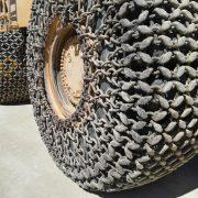 Rodas com correntes protectoras Caterpillar 990-175 SérieI